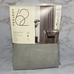"""Project 62 Gray Henna 50"""" x 63"""" Blackout Curtain"""